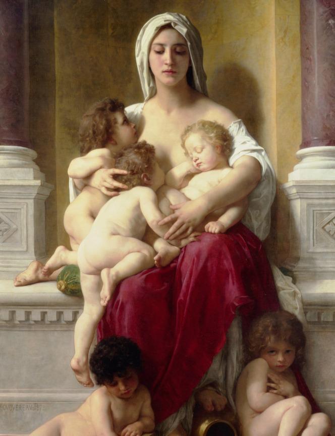 William Adolphe Bouguereau (1825-1905) -Charity (1878)